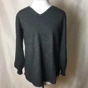 Style&Co Long sleeve tunic sweater